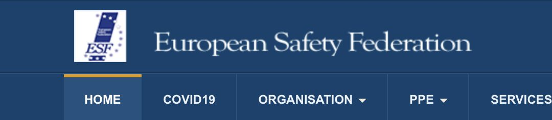 Suspicious certificates for PPE – updated 07/04/2020 by European Safety Federation
